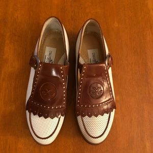 NWOT LEATHER WOLTER GENUIN GOLF SHOES